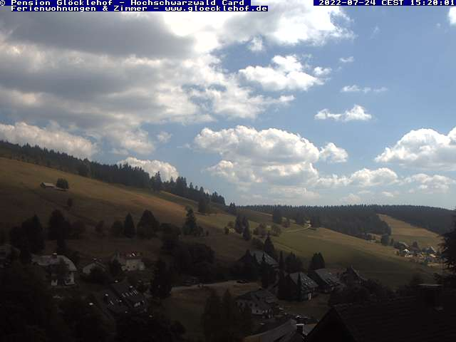 Webcam der Pension Glöcklehof